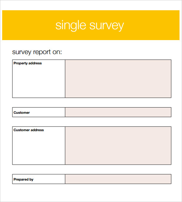Blank Survey Template  MycareukCo