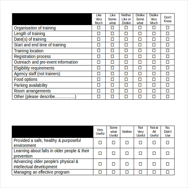 24 user survey templates survey templates and worksheets
