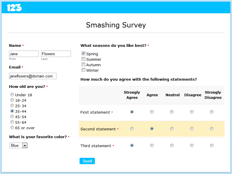 free online survey user survey template survey templates and