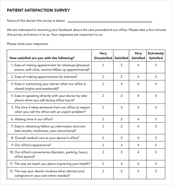 Designing Survey Templates  Survey Templates And Worksheets