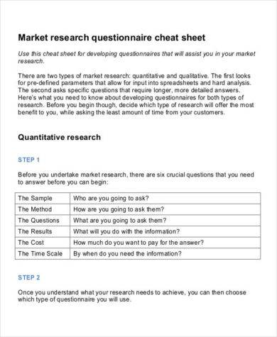 market research survey templates survey templates and worksheets