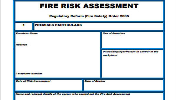 Risk Assessment Form Aged Care Survey Templates And